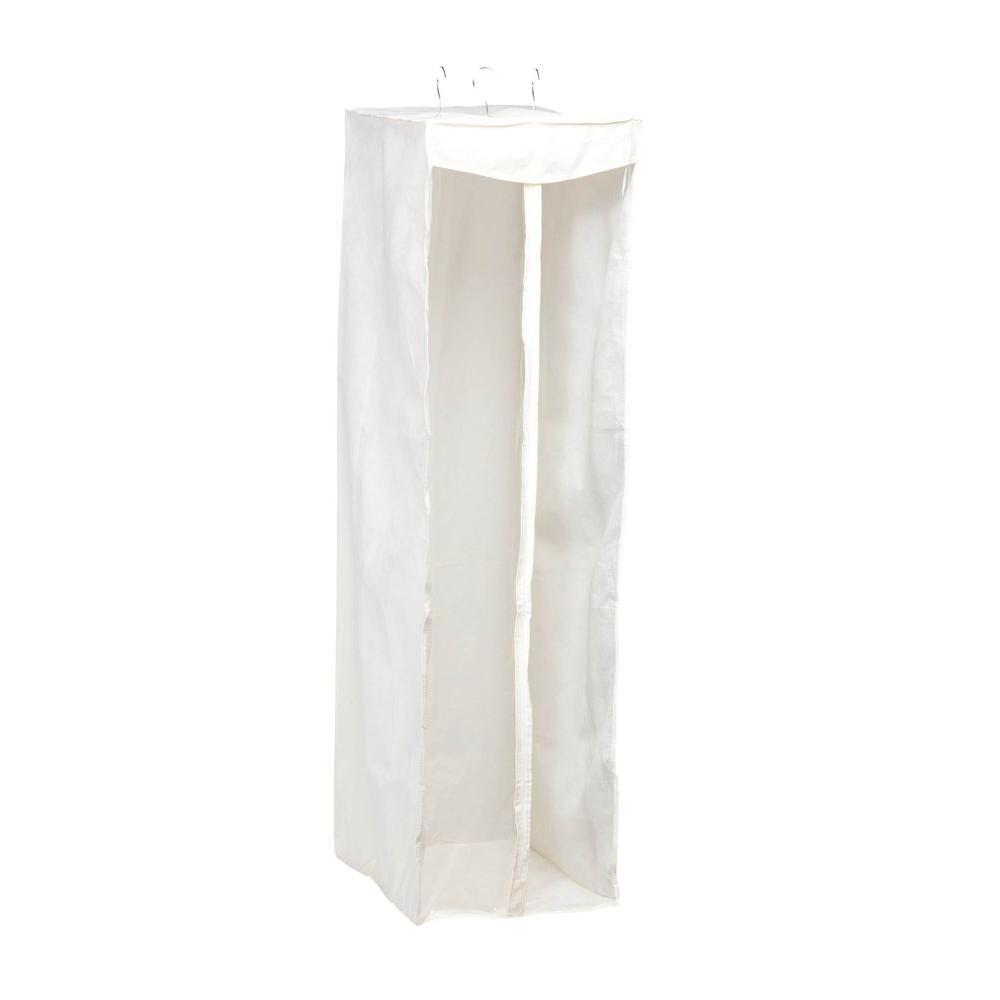 Honey-Can-Do Hanging Organizer PEVA Jumbo Storage Closet in White