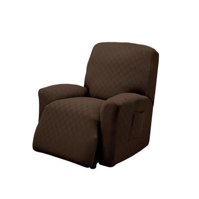 Chocolate Newport Recliner Stretch Slipcover