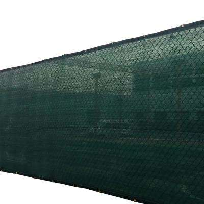 6 ft. x 50 ft. Dark Green 150 GSM HDPE Privacy/Wind Fence Screen Garden Fence