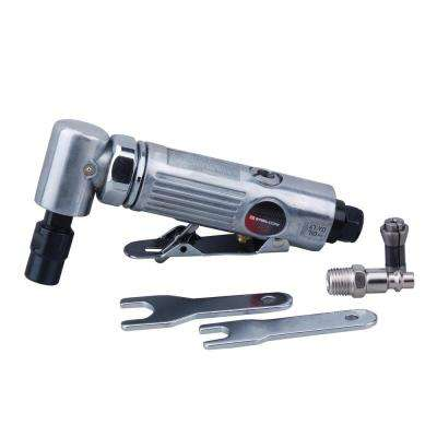 Pneumatic Angle Die Grinder 1/4 in. Polisher Cleaning Cutting Air Tool