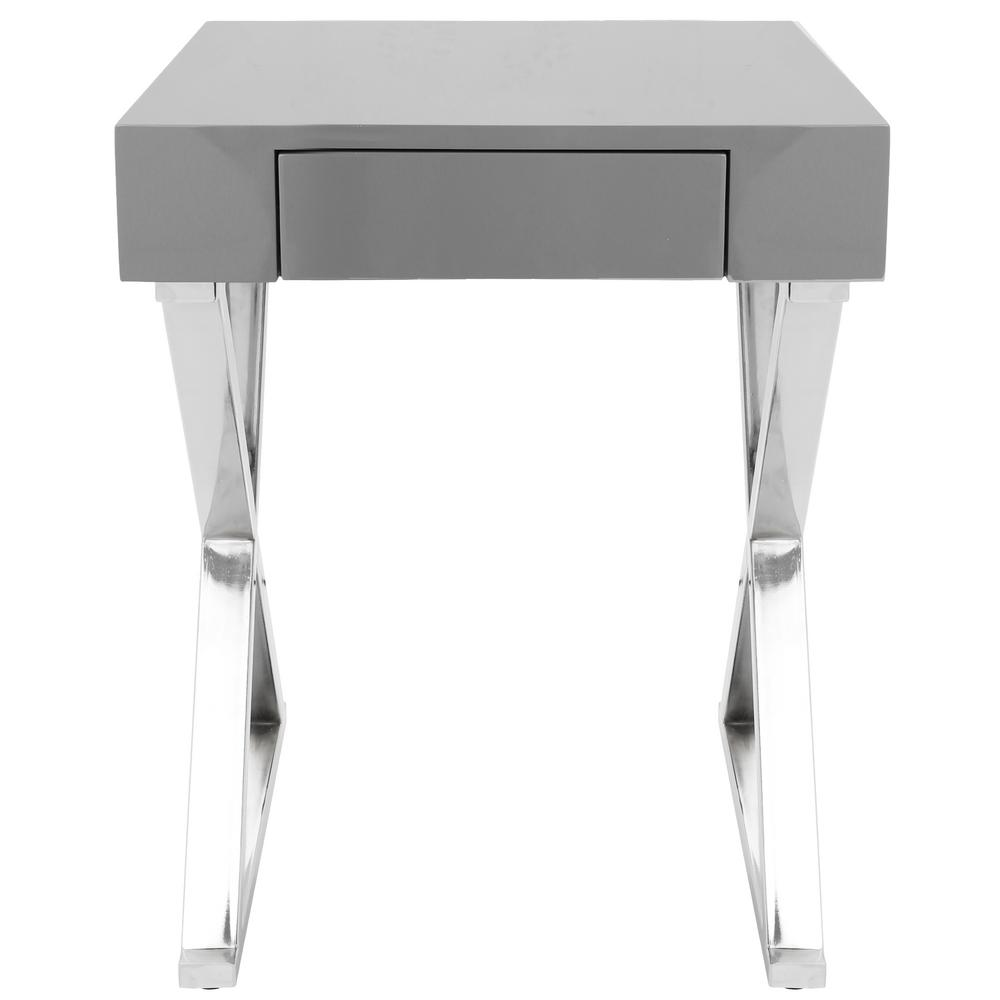 Luster Grey Side Table