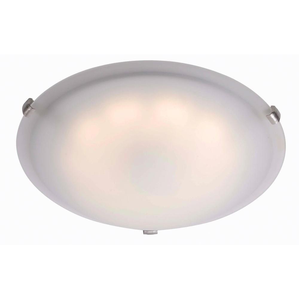 Kenroy Home Aero Brushed Steel LED Large Flushmount