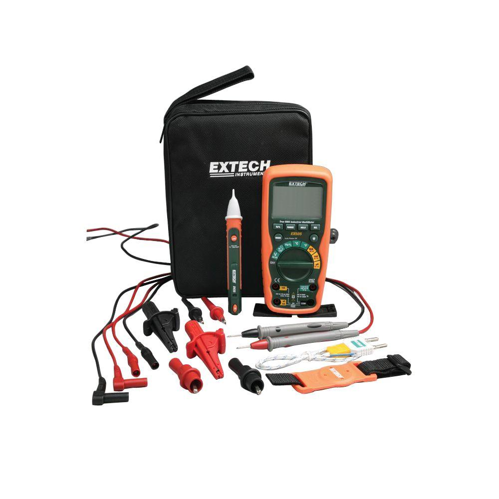 Extech Heavy Duty Industrial Multimeter Kit