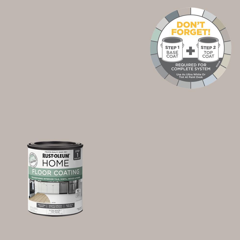 Rust-Oleum Home 1 qt. Windsor Gray Interior Floor Base Coating