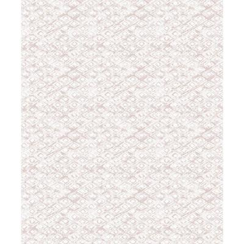 Delilah Peach Diamond Wallpaper Sample