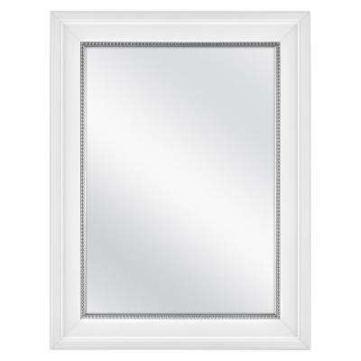 20 in. x 26 in. Fog Free Recessed or Surface Mount Medicine Cabinet in White