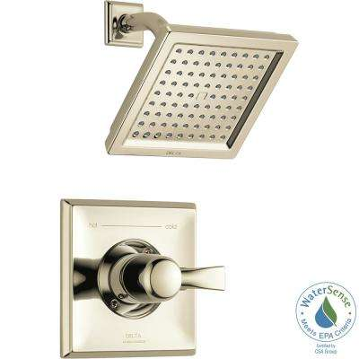 Dryden 1-Handle Shower Faucet Trim Kit in Polished Nickel (Valve Not Included)
