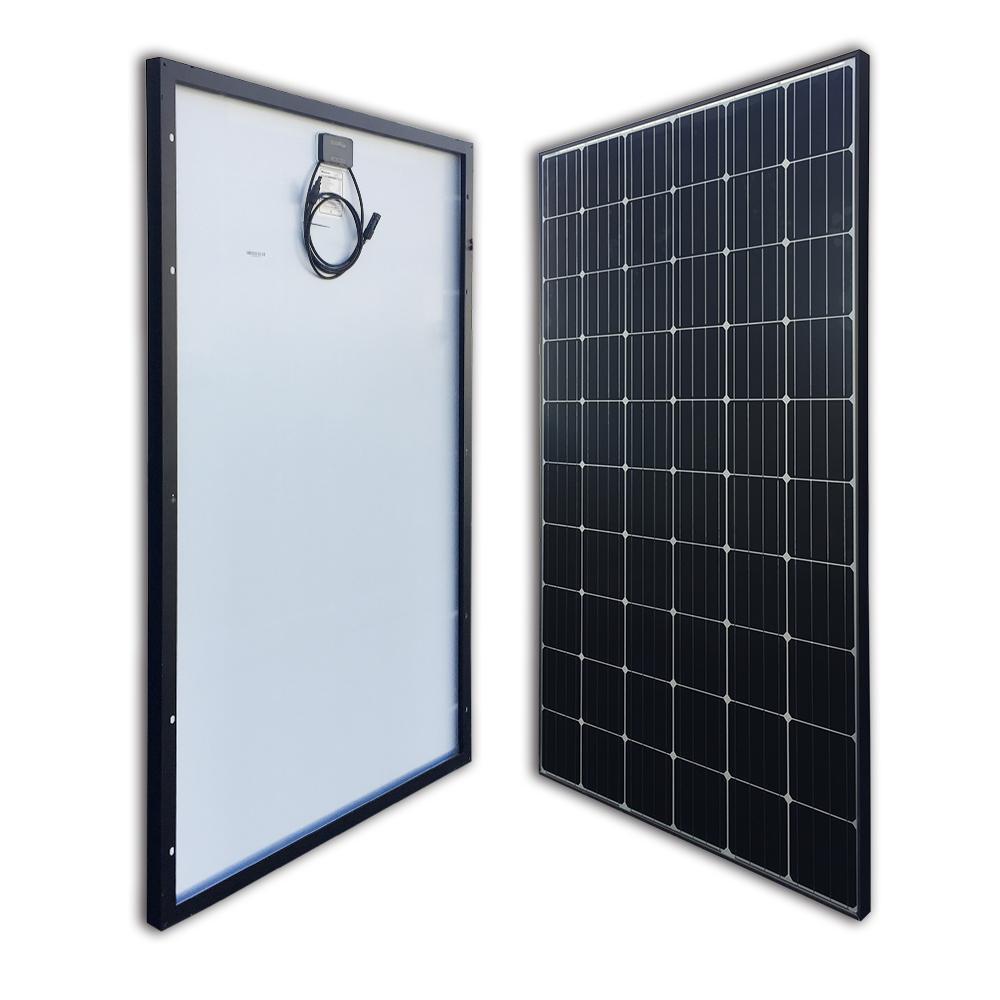Renogy 300-Watt 24-Volt Monocrystalline Solar Panel for Residential Commercial Rooftop Back-Up System Off-Grid Application