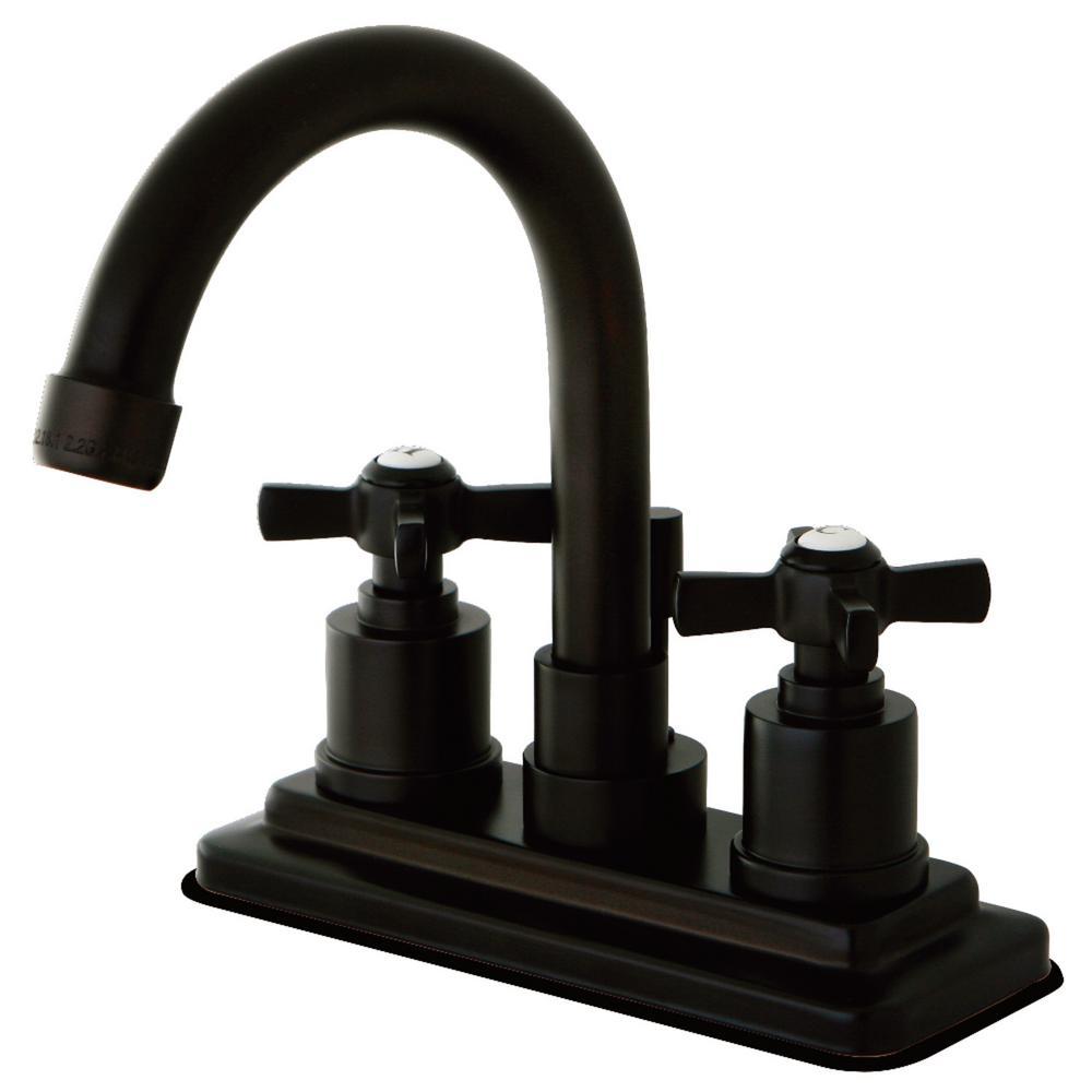 Millennium 4 in. Centerset 2-Handle Bathroom Faucet in Oil Rubbed Bronze