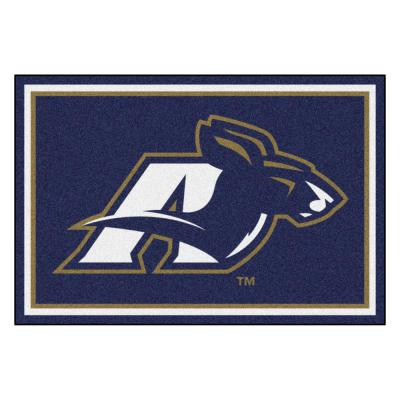 NCAA - University of Akron Blue 8 ft. x 5 ft. Indoor Area Rug