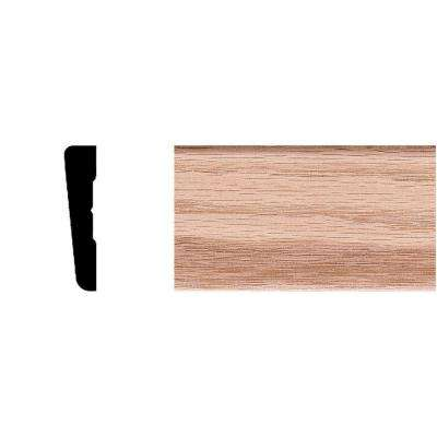 7/16 in. x 2-1/4 in. x 7 ft. Oak Modern Casing