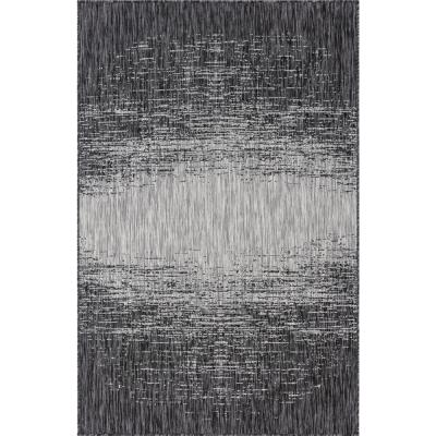 Gray Ombre Outdoor 9 ft. x 12 ft. Area Rug