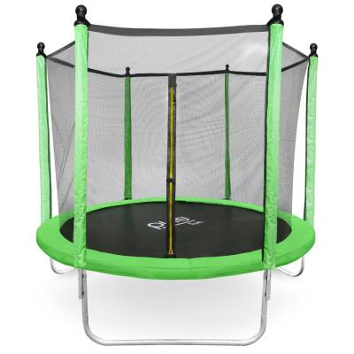 Pure Fun Dura-Bounce 8ft. Trampoline and Enclosure Set