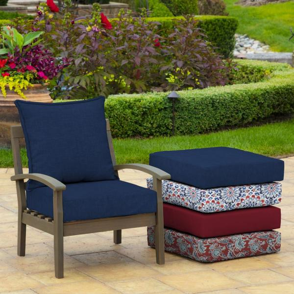 """Outdoor Deep Seat Chair Patio Cushions Set Pad UV /& Fade Resistant Furniture 24/"""""""