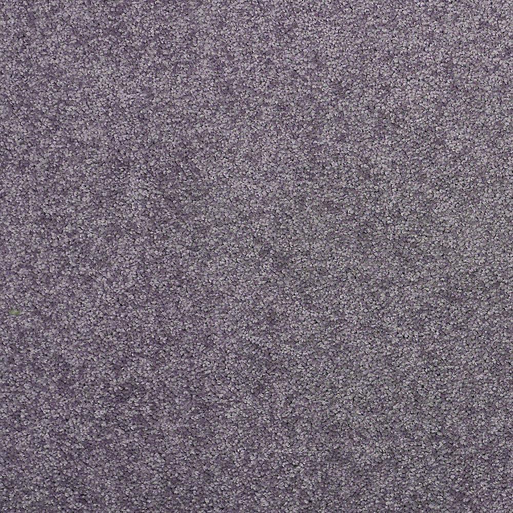 Carpet Sample - Watercolors II 12 - In Color Wisteria Texture 8 in. x 8 in.