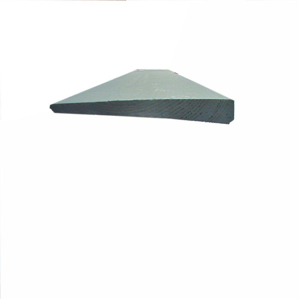 1/2 in. x 6 in. x 16 ft. Clear Grade Finger Joint Primed Bevel ...