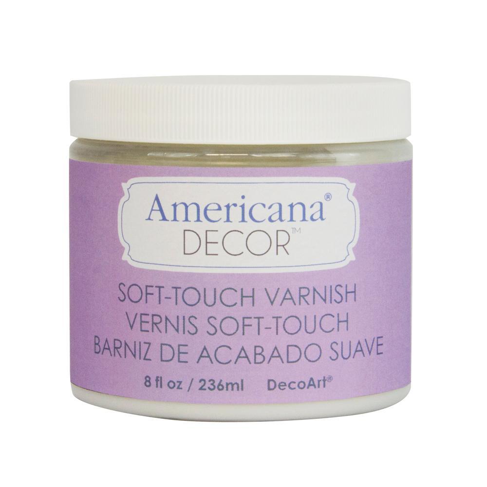 DecoArt 16 oz. Americana Decor Clear Soft Touch Varnish