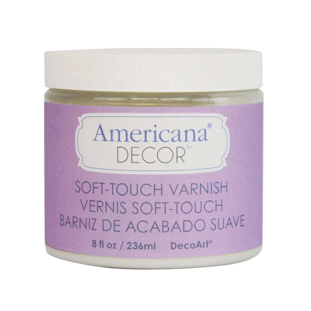 Americana Decor 16 oz. Clear Soft Touch Varnish