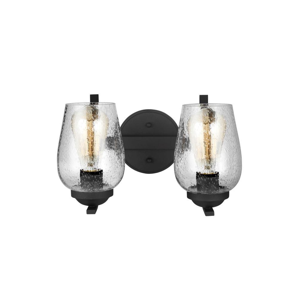 Morill 2-Light Blacksmith Vanity