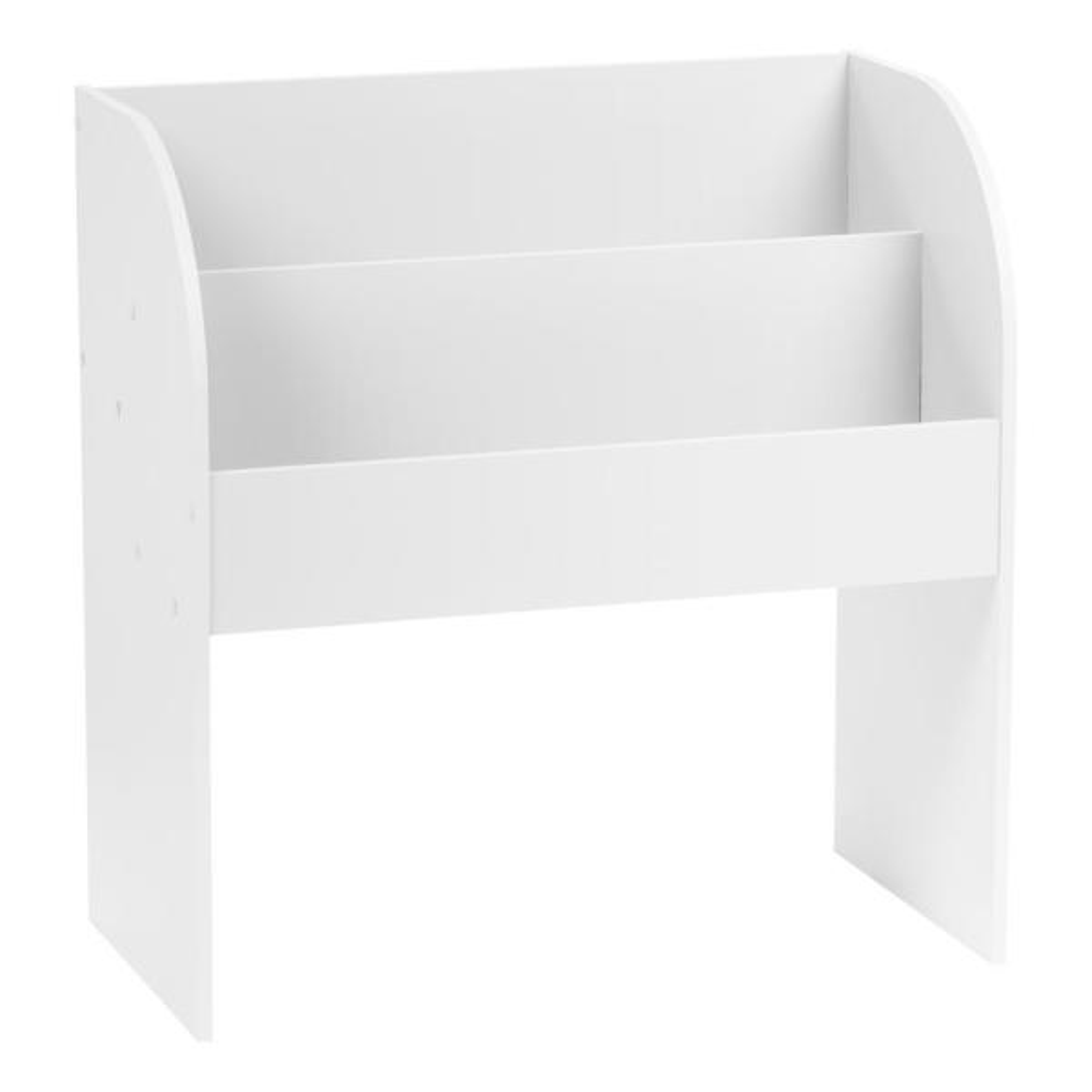 IRIS Kid's White Wooden Bookshelf