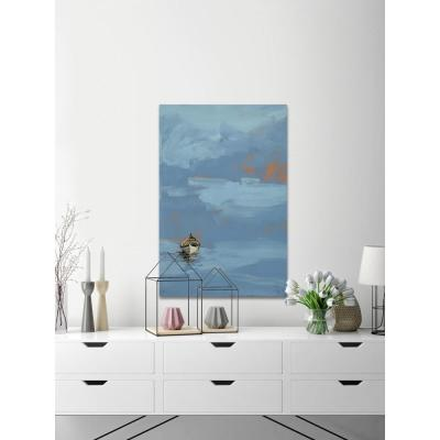"""60 in. H x 40 in. W """"Set Sail 8"""" by Marmont Hill Canvas Wall Art"""