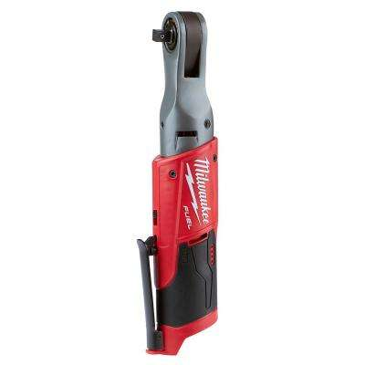 M12 FUEL 12-Volt Lithium-Ion Brushless Cordless 3/8 in. Ratchet (Tool-Only)