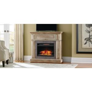 Home Decorators Collection Coleridge 42 inch Mantel Console Infrared Electric Fireplace in... by Home Decorators Collection