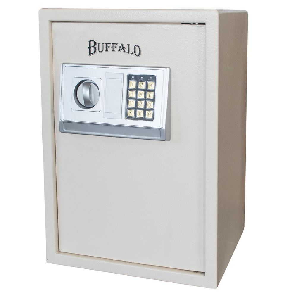 1.75 cu. ft. Floor Safe with Electronic Lock in Beige