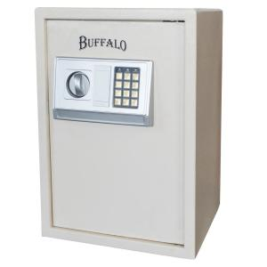 Deals on BUFFALO 1.5 cu. ft. Floor Safe with Electronic Lock in Beige