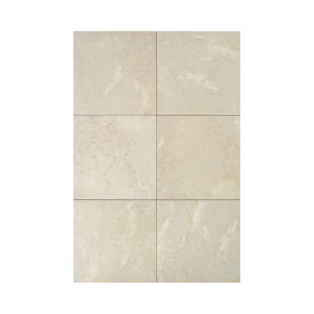 Daltile Pietre Vecchie Antique Ivory 13 in. x 13 in. Porcelain Floor and Wall Tile (16.70 sq. ft. / case)