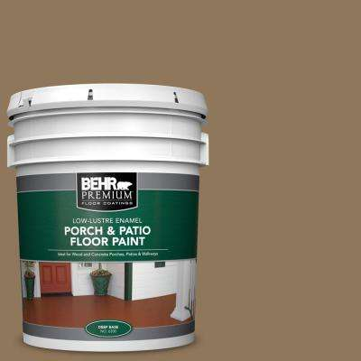 5 gal. #N300-6 Archaeological Site Low-Lustre Enamel Interior/Exterior Porch and Patio Floor Paint