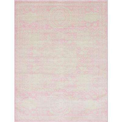 Pink 8 ft. x 10 ft. Bromley Area Rug