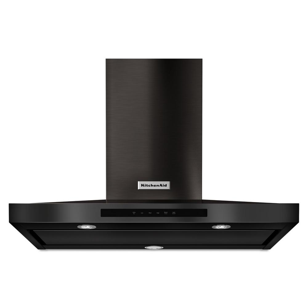 36 in. 600 CFM Convertible Wall Mount Range Hood in PrintShield