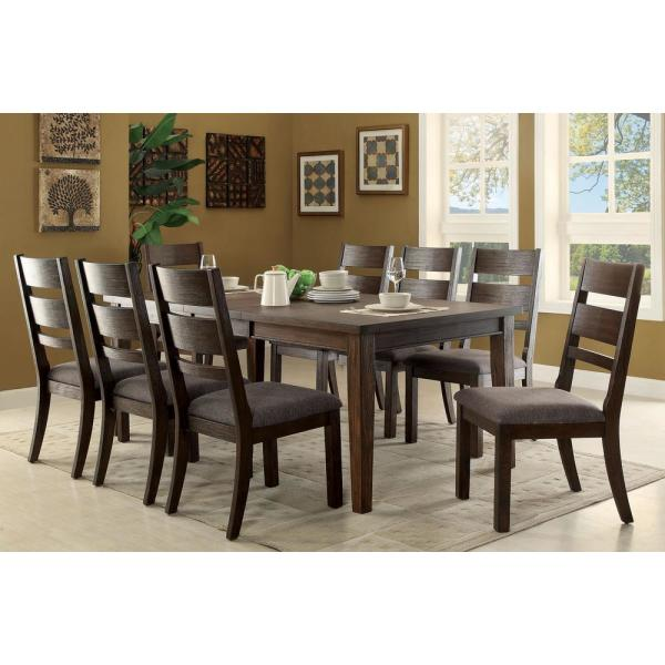 William S Home Furnishing Isadora Espresso Cottage Style Dining Table