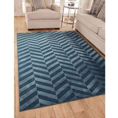 Napa Zander Cobalt 5 ft. 3 in. x 7 ft. 6 in. Area Rug