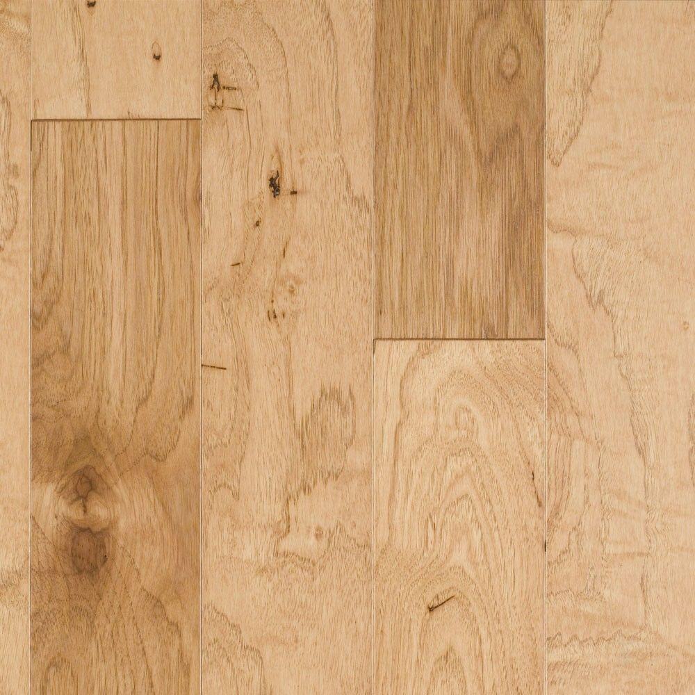 Millstead Southern Pecan Natural 3/8 in. Thick x 4-3/4 in. Wide x Random Length Click Hardwood Flooring (33 sq. ft. / case)