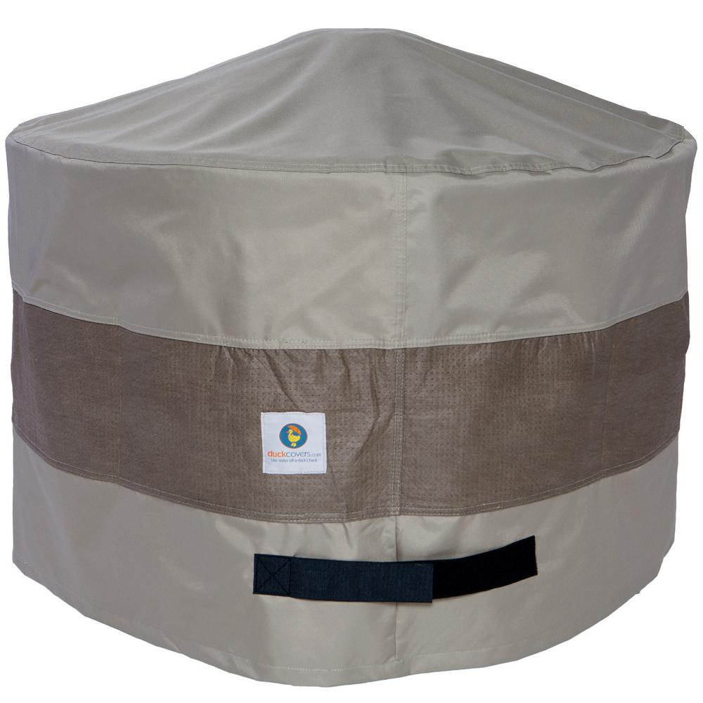 Duck Covers 36 In Elegant Round Fire Pit Cover Lfpr3620
