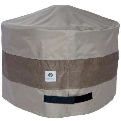 36 in. Elegant Round Fire Pit Cover