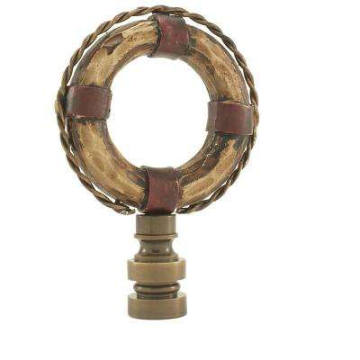 Life Saver Lamp Finial