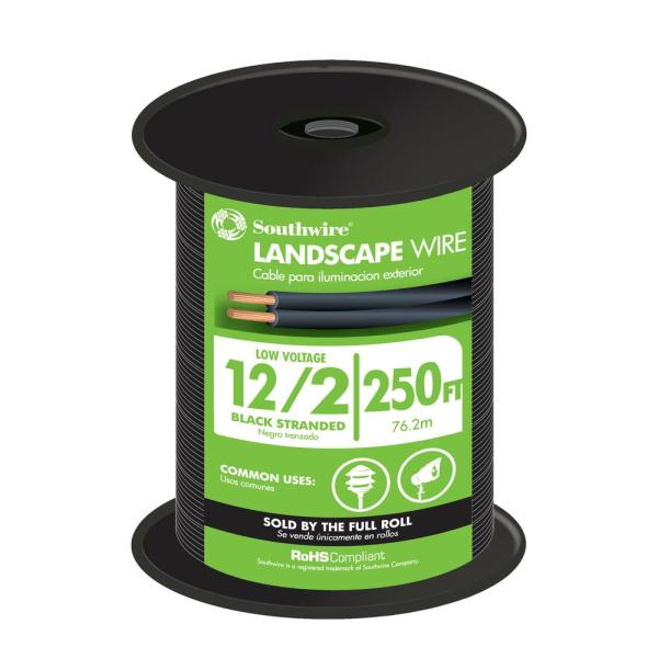12-2 Outdoor 250' Roll Electric Wire