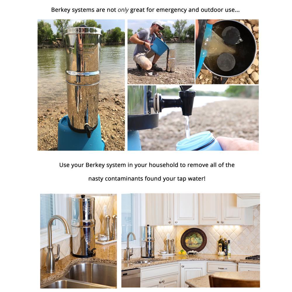 Berkey 4 5 Gal Imperial Water Filter