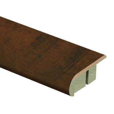 Antique Cherry 3/4 in. Thick x 2-1/8 in. Wide x 94 in. Length Laminate Stair Nose Molding