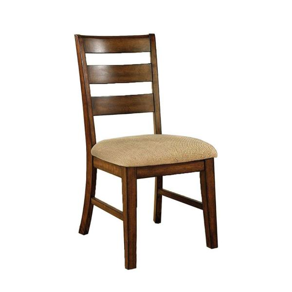 Priscilla Transitional Antique Oak Side Chair (Set of 2)