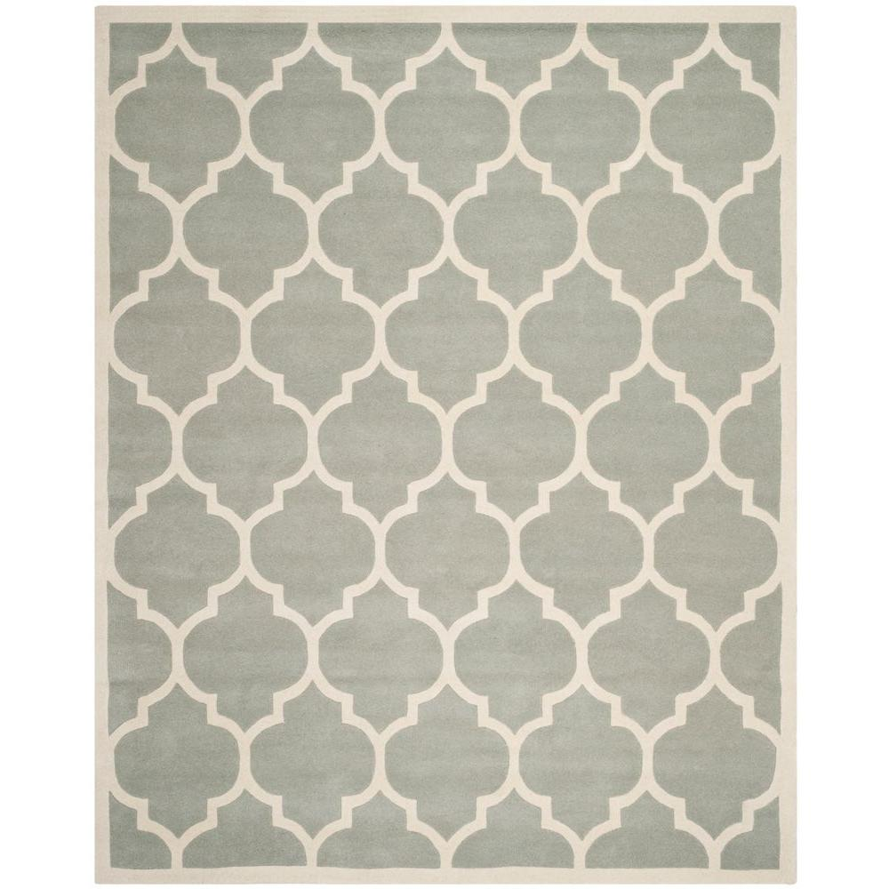 Chatham Grey/Ivory 7 ft. 6 in. x 9 ft. 6 in.