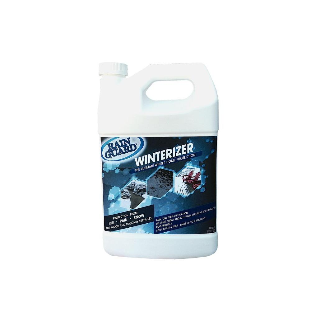 Rainguard Winterizer Snow /& Ice Repellent Barrier Concrete Brick Wood 1 Gal