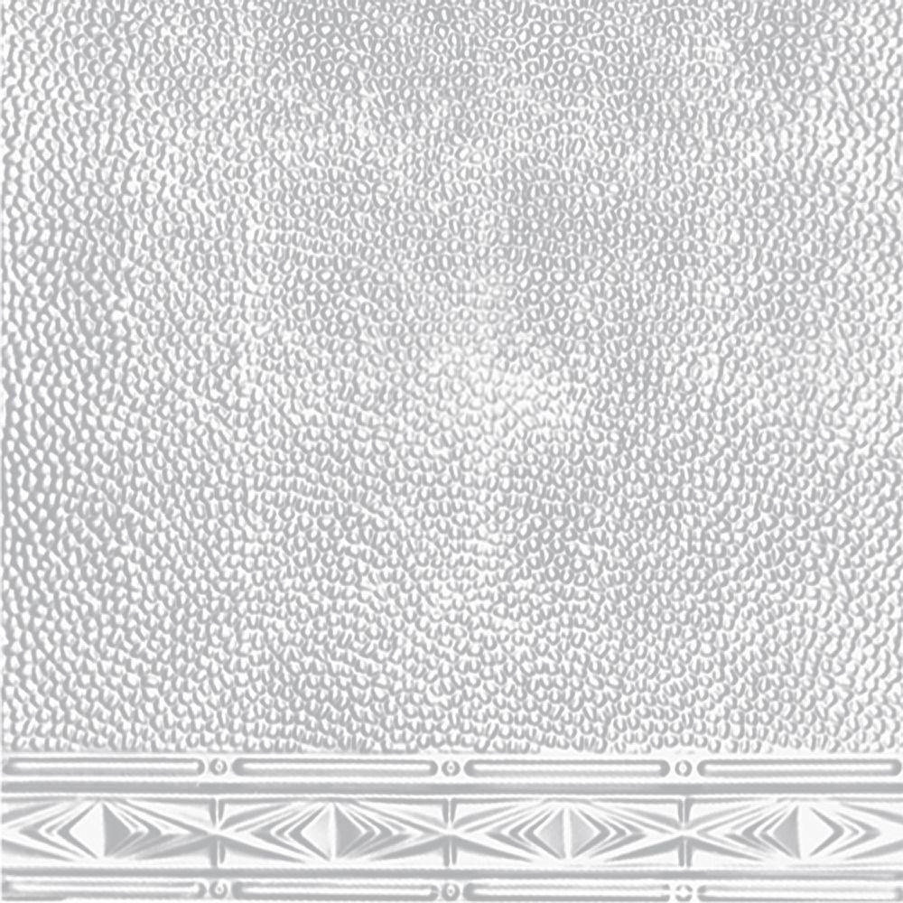 Shanko 2 ft. x 4 ft. Nail-up/Direct Application Tin Ceili...