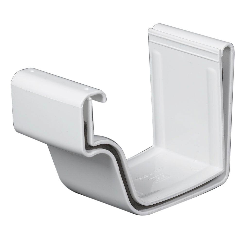 Amerimax Home Products White Vinyl K-Style Joiner