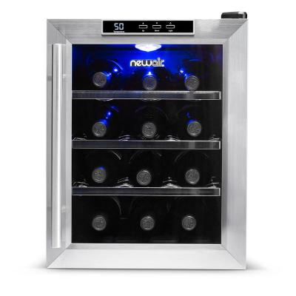 12-Bottle Freestanding Wine Cooler