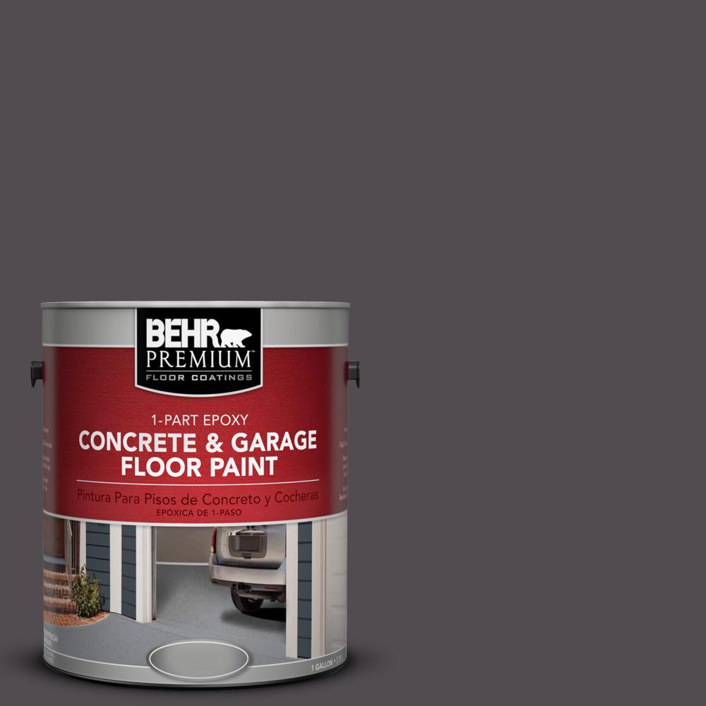 1 gal. #N570-7 Black Elegance 1-Part Epoxy Concrete and Garage Floor Paint