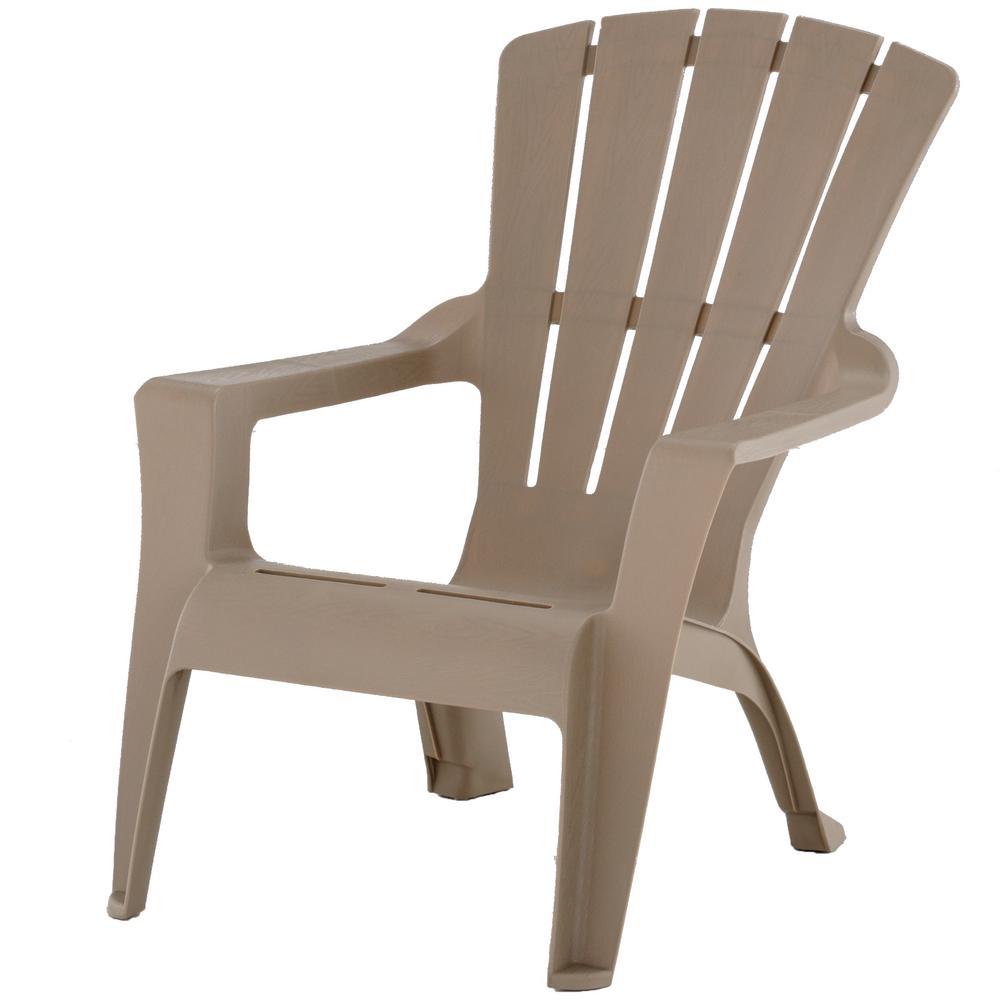 Mushroom Resin Plastic Adirondack Chair